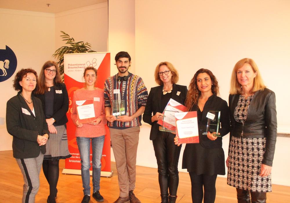 Am Abend wurden die Preisträger des Braunschweiger Präventions-Preises ausgezeichnet. Fotos: Anke Donner
