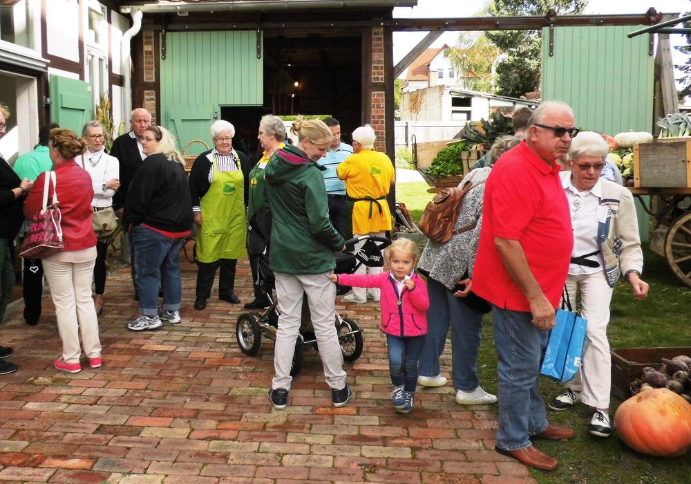 Viele Besucher kam am Erntedankfest ins Gärtnermuseum. Fotos: Meißler