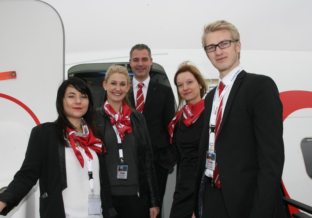 Die DER SCHMIDT Crew bietet 2016 neue Flugziele ab Flughafen Braunschweig-Wolfsburg an: Sizilien und Sardinien. Foto: Privat