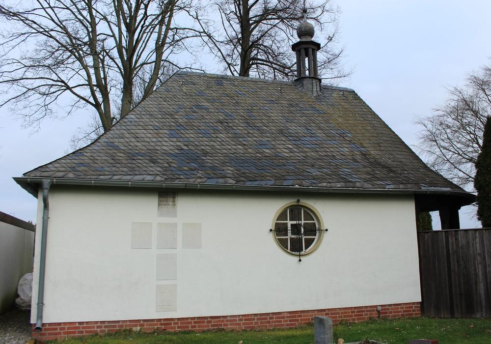 Die Friedhofskapelle in Lesse ist nicht mehr sicher. Fotos: Frederick Becker