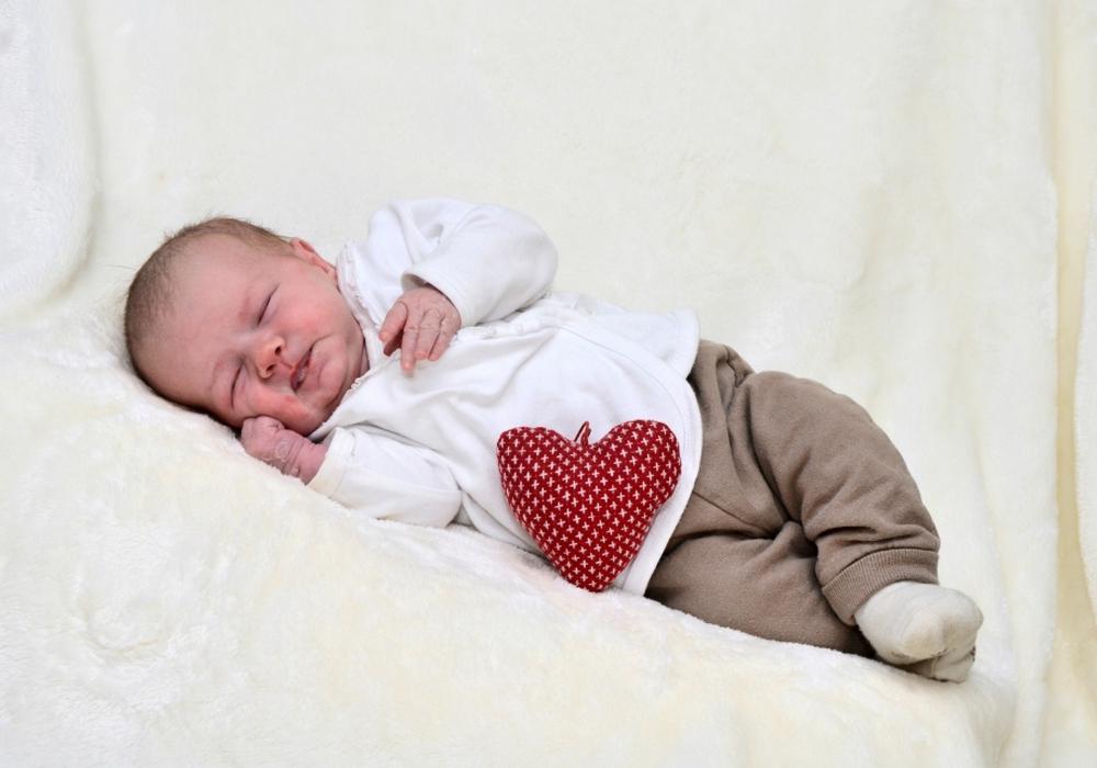 Herzlich Willkommen: Frieda Kühnel. Foto: Babysmile24