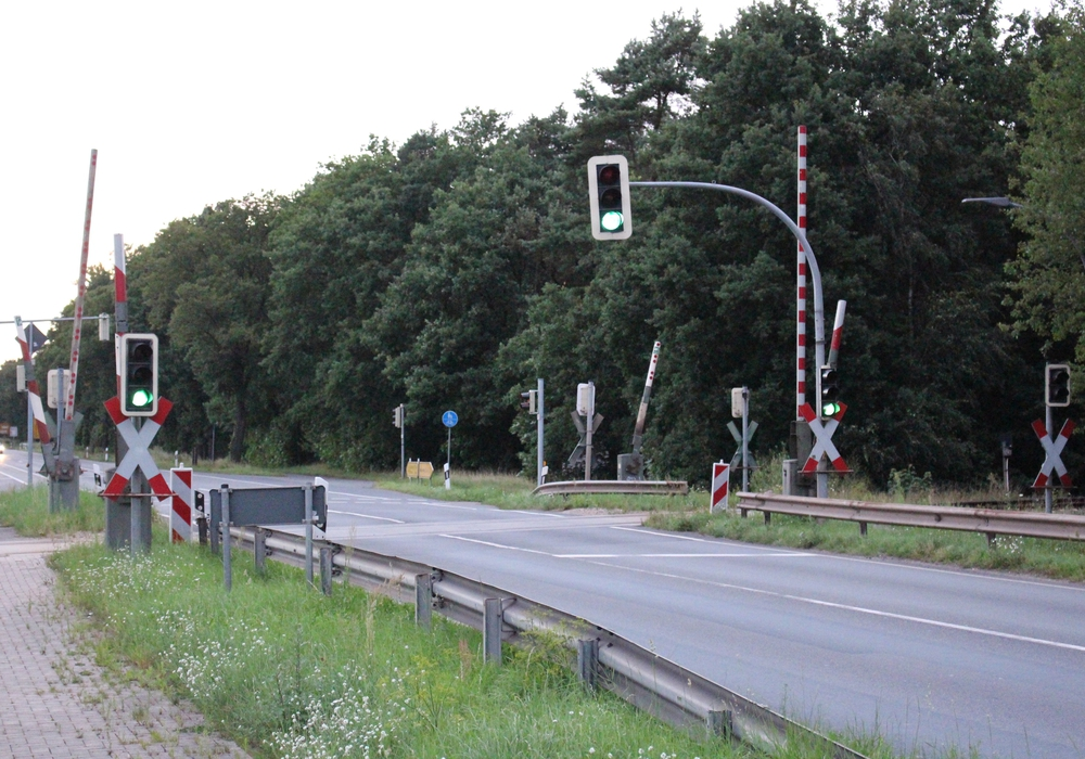 Bahnübergang Ausbüttel. Foto: Sandra Zecchino
