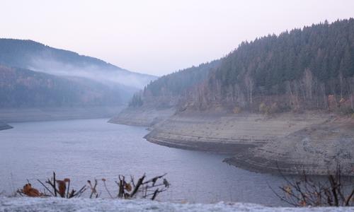 Die Talsperren im Harz - hier die Okertalsperre - haben noch viel Platz für Schmelzwasser. (Archivbild)