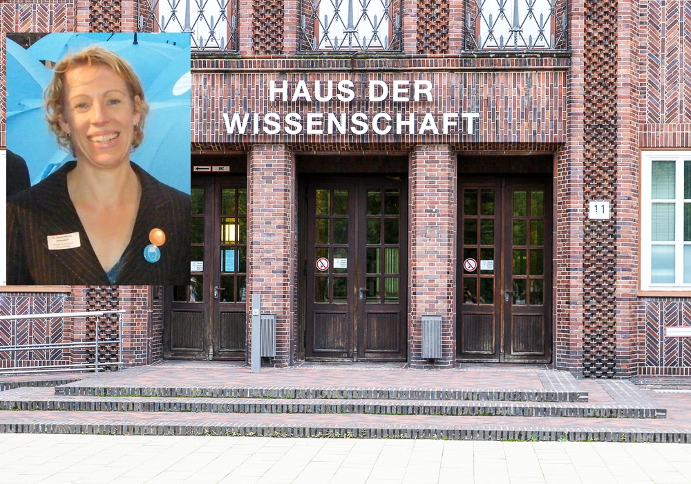 Die Wege von Dr. Karen Oltersdorf und dem Haus der Wissenschaft trennen sich zum Ende des Jahres. Fotos: Archiv/Raedlein/Donner