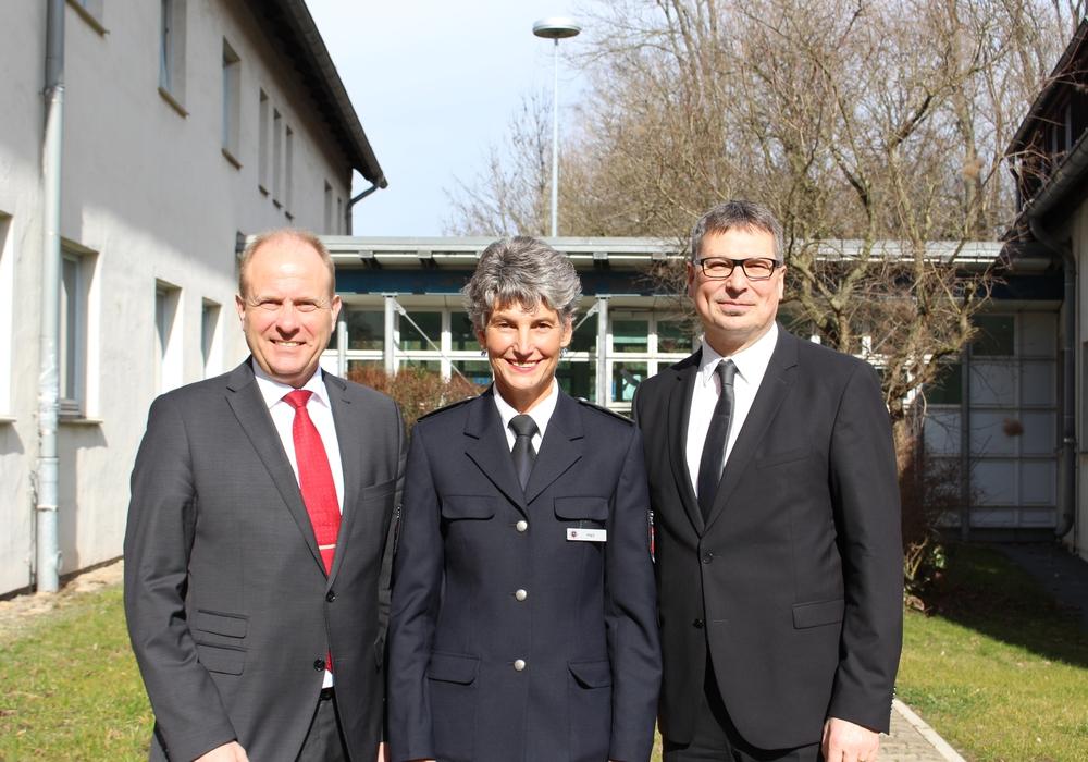 Gerhard Radeck, Heike Heil und Michael Pientka. Foto: Christoph Böttcher