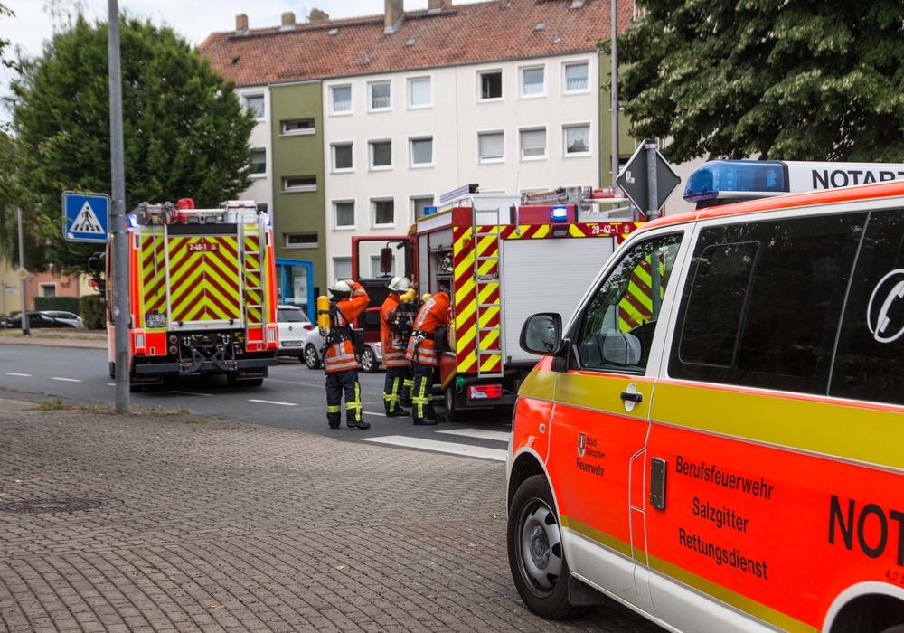 In Lebenstedt brannte ein Essen auf dem Herd. Die Feuerwehr rückte an. Foto: Karliczek