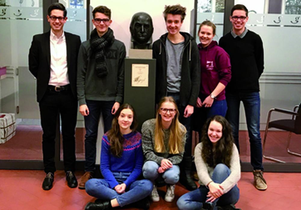 Der Leistungskurs Musik der Gaußschule spielt Raritäten der Musikgeschichte. Fotos: Bürgerstiftung Braunschweig