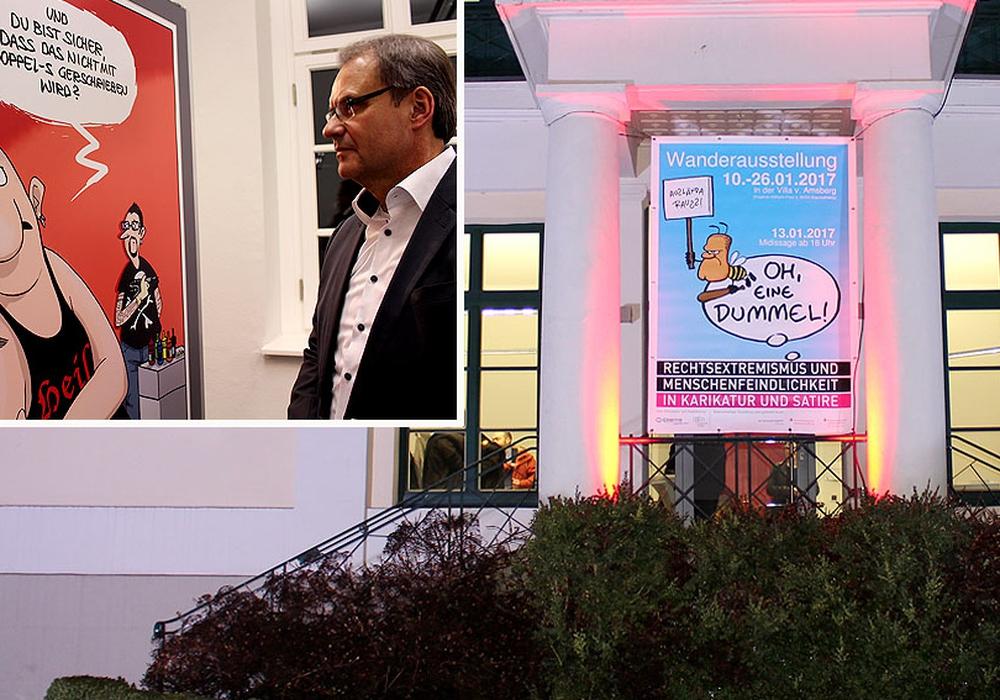 """Am Freitag eröffnete Oberbürgermeister Ulrich Markurth die Ausstellung """"Oh, eine Dummel!. Fotos: Andre Ehlers"""