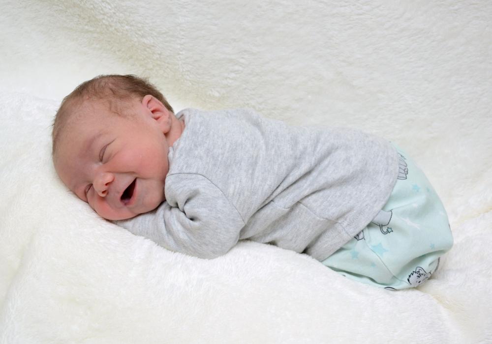 Herzlich Willkommen: Mats Rabätje. Foto: babysmile24.de
