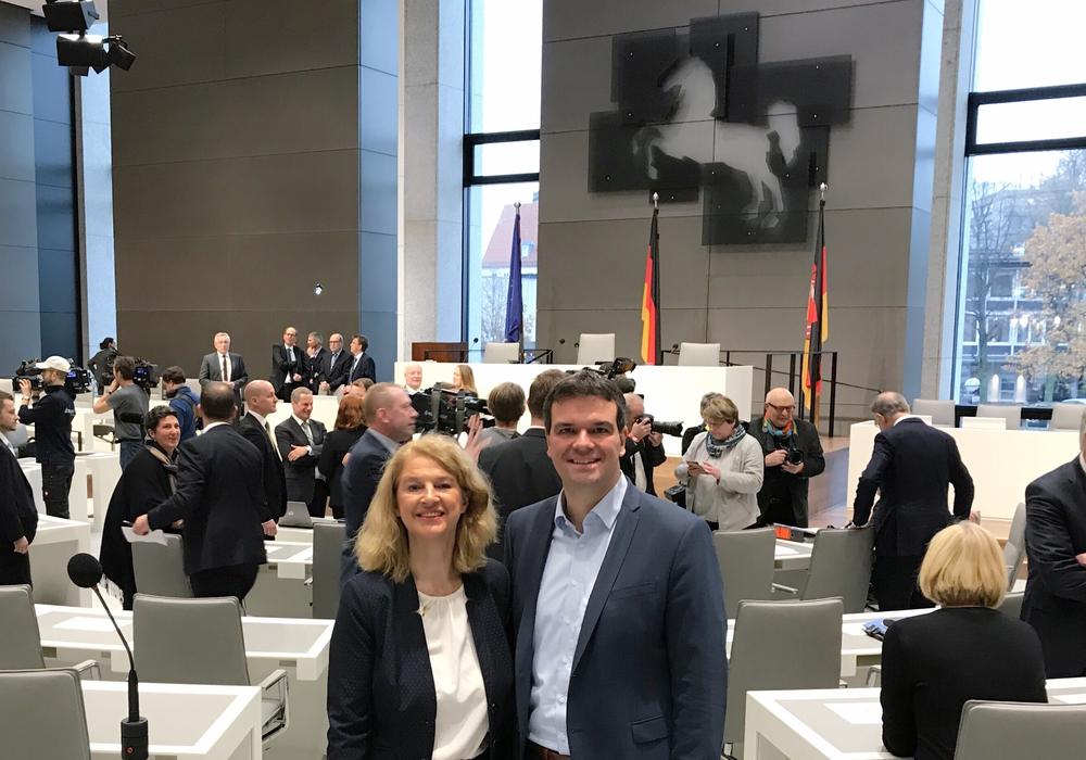 Die beiden SPD-Landtagsabgeordenten Petra Emmerich-Kopatsch und Dr. Alexander Saipa können sich über neue und verantwortungsvolle Aufgaben im Landtag freuen. Foto: SPD