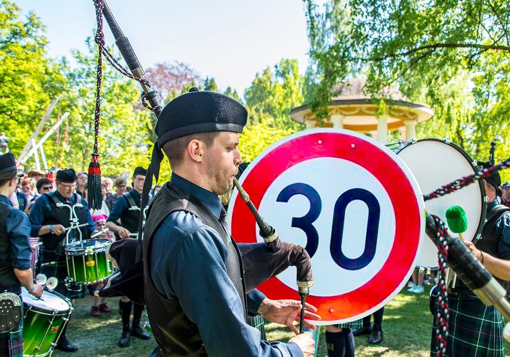 Zum Highland Gathering wird angrenzend zum Veranstaltungsgelände wieder eine 30er Zone eingerichtet. Foto: PeineMarketing GmbH