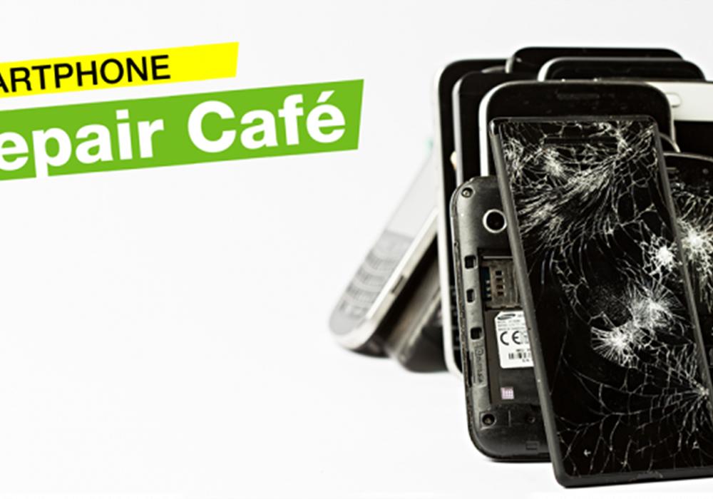 Das Repair Café lädt zu einer Spezialaktion von Greenpeace. Foto: Privat