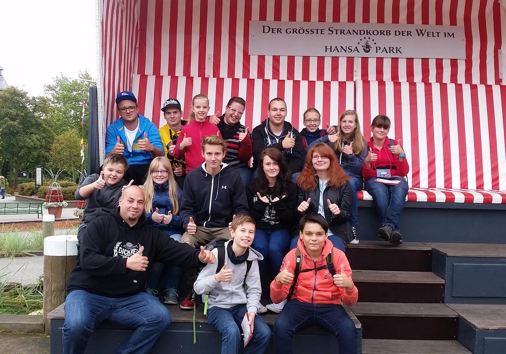 Die Jugendfeuerwehr Adersheim auf ihrem Ausflug. Foto: Privat