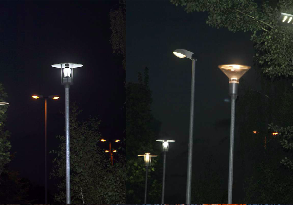 An der Hansestraße werden die autark betriebenenen Lichtpunkte installiert. Fotos: BS Energy