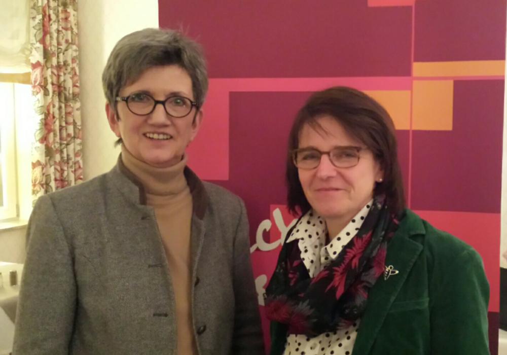 von links: Dorothea Dannehl Kreisvorsitzende der Frauen Union Catarina Köchy Kreisvorsitzende der Landfrauenvereine im Landkreis Helmstedt und Vorstandsmitglied im NLV. Foto: Privat