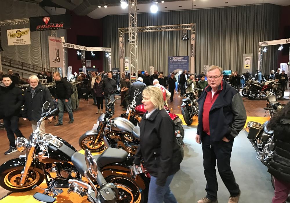 Im CongressPark Wolfsburg drehte sich alles um Zweiräder. Fotos: Lukas Exner