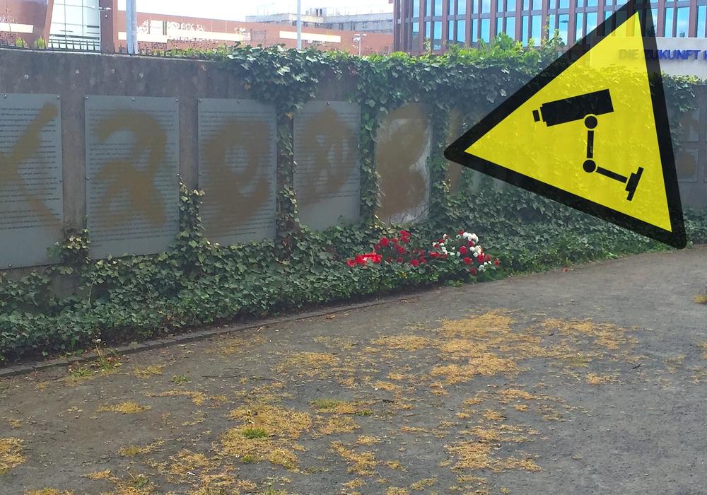 Die Gedenkstätte an der Schillstraße soll zur Sicherheit eine Videoüberwachung erhalten. Foto: Pixabay/Archiv