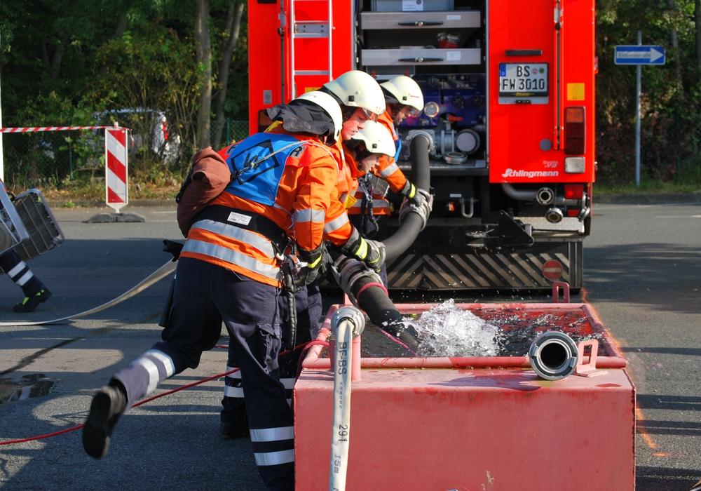 Stadtleistungswettbewerb 2017. Foto: Feuerwehr Braunschweig