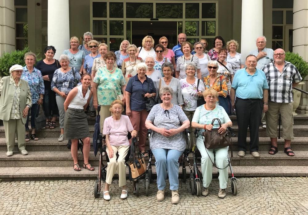 Die Seniorengruppe im Weserbergland. Foto: Stadt Peine