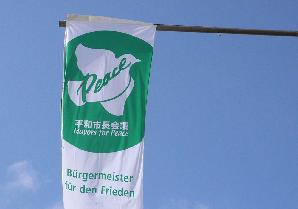 Auch in Wolfenbüttel wird die Flagge gehisst. Foto: Stadt Wolfenbüttel