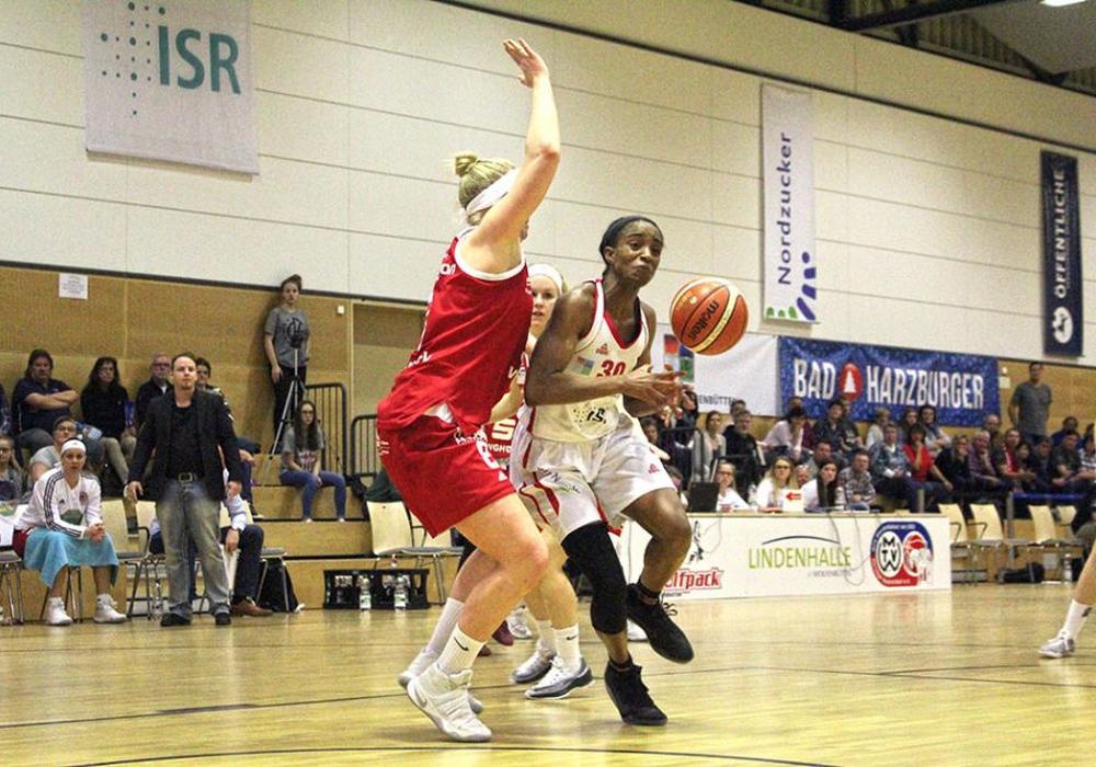 Alli Gloyd ist die große Konstante im Spiel des Wolfpacks. Foto: Maschauer