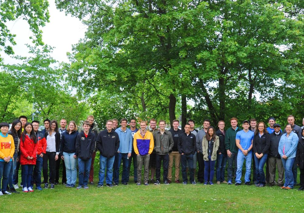 Studierende aus den USA, Mexiko, Brasilien und China sowie Gastdozenten aus Finnland und den USA haben für zwei Wochen Land und Hochschule  getauscht. Foto: Ostfalia