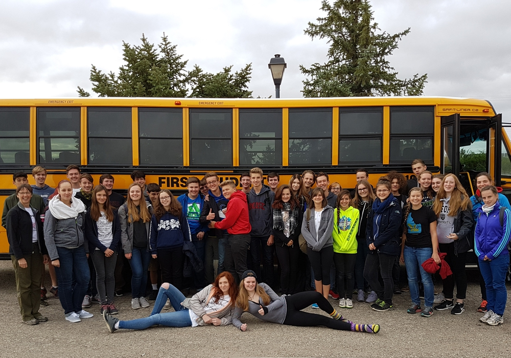 Die Schüler der 10.Klasse der Großen Schule besuchten Amerika. Foto: Privat