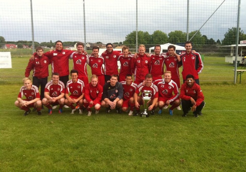 Die Sieger von 2013: Rot-Weiß Gliesmarode. Foto: Verein