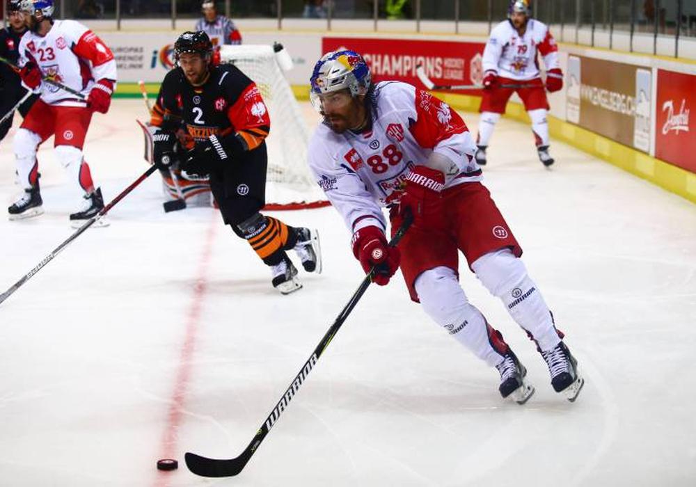 EX-NHL-Spieler Peter Mueller bescherte seinem Team zwei Tore. Foto: imgao/GEPA pictures