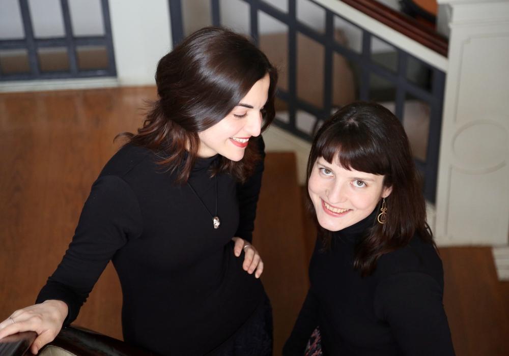 Das Konzert wird von dem Duo Viakkordia gestaltet. Pianistin Violetta Khachikyan und Akkordeonistin Yuliya Zhyvitsa kennen sich schon seit dem Studium. Foto: Michaelis-Kirchengemeinde
