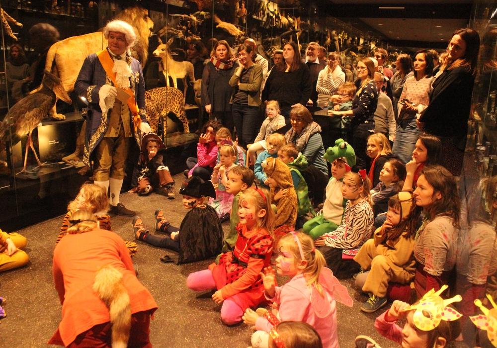 Im Naturhistorischen Museum fand am Sonntag der zweite Karneval der Tiere statt. Fotos. Anke Donner