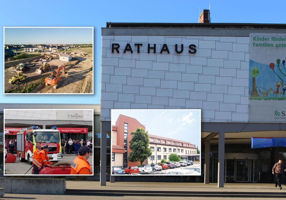 Viele Themen stehen wieder auf der Tagesordnung. Fotos: Alexander Panknin; Stadt Salzgitter; St. Elisabeth-Krankenhaus