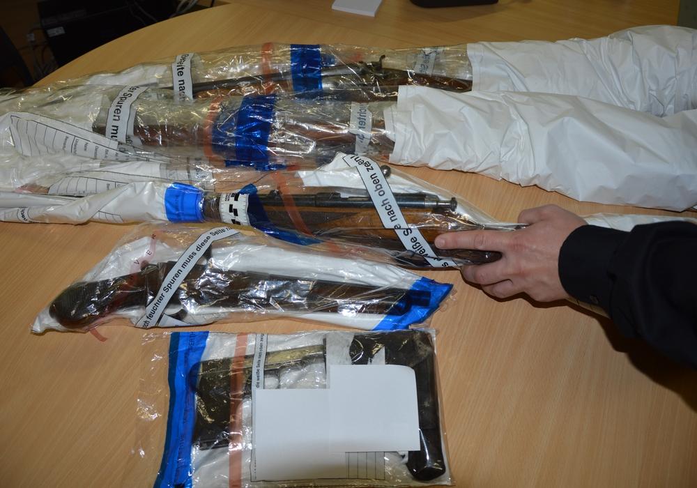 Seit dem 6. Juli können illegale Waffen straffrei abgegeben werden. Symbolfoto: Polizei