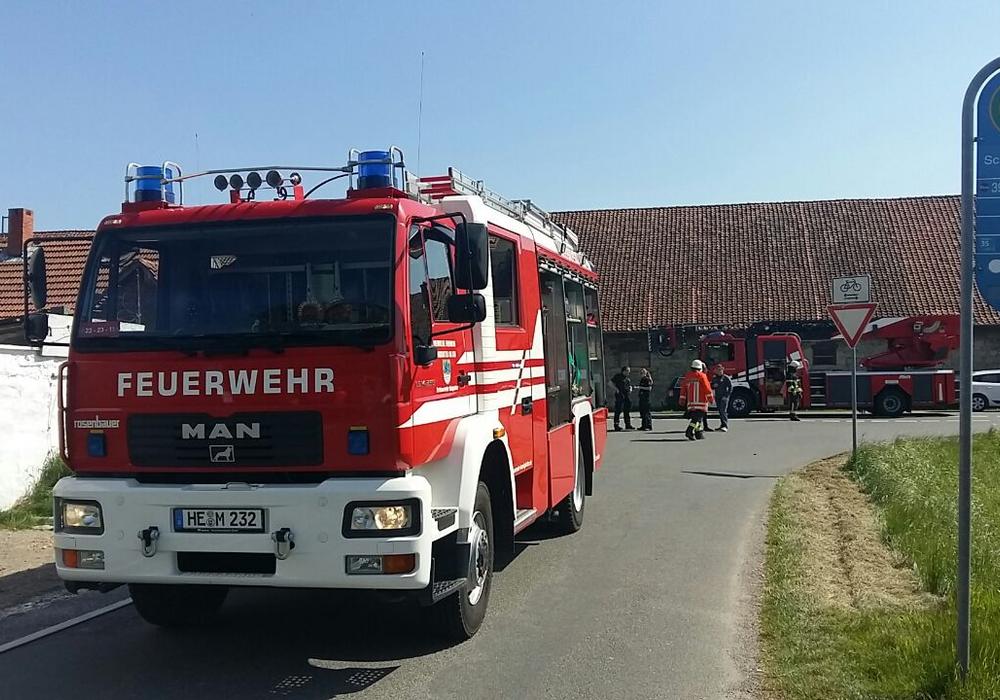 Zwei Personen wurden durch die Rauchentwicklung verletzt. Foto: Andreas Meißner, Kreispressesprecher Nord