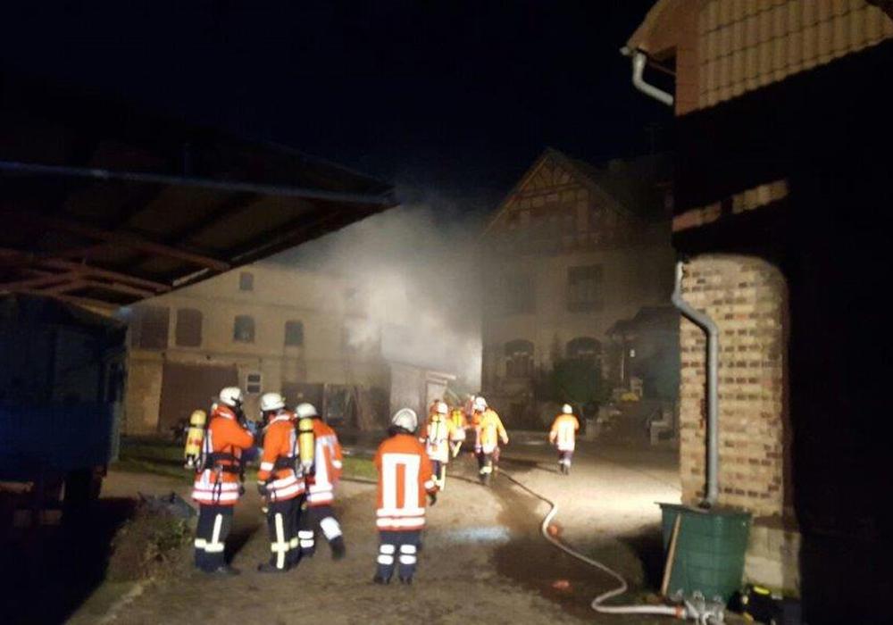 Die Feuerwehr übte in Gilzum. Foto: privat