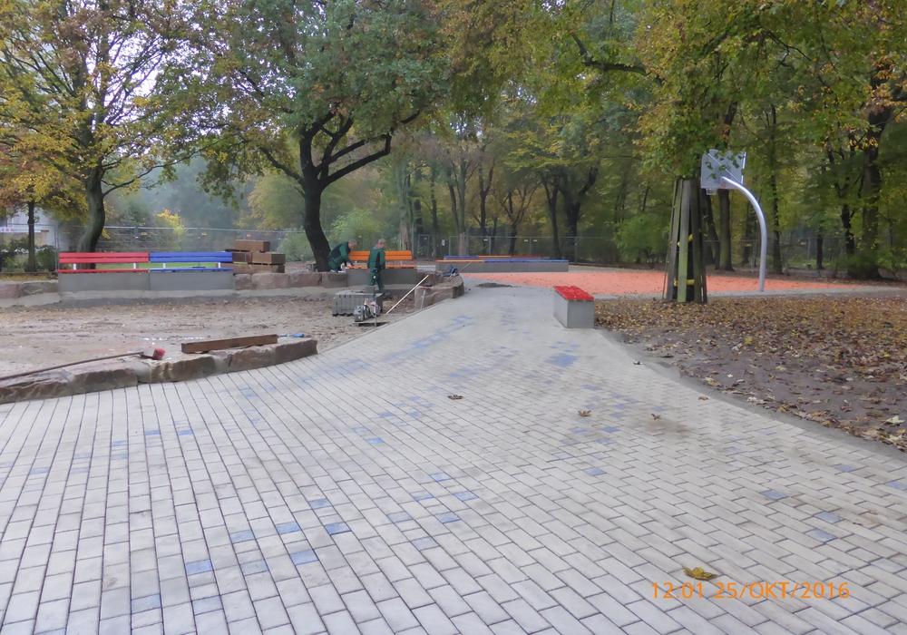 Spielplatz Breslauer Straße. Foto: Stadt Wolfsburg