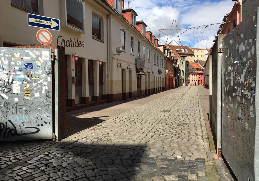 Die Bruchstraße in Braunschweig. Archivbild