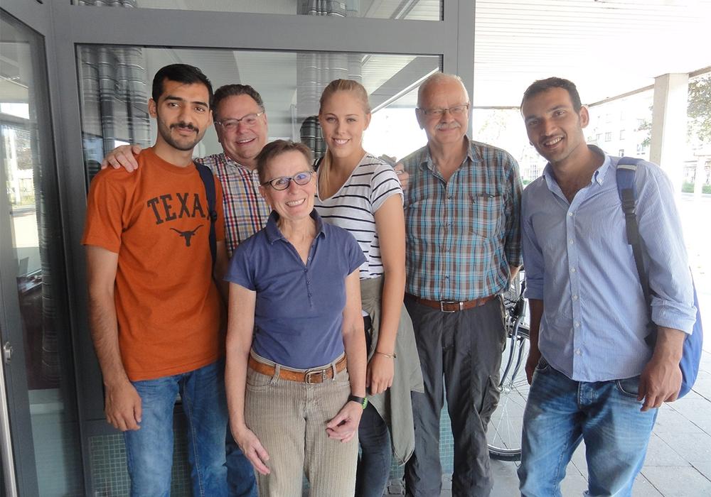 Für ein Projekt der Freiwilligen Agentur werden Willkommens-Paten gesucht. Foto: Freiwilligen Agentur