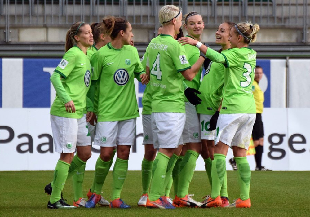 Zum dritten Mal in Folge im Halbfinale: VfL-Frauen. Foto: Moritz Eden/Archiv