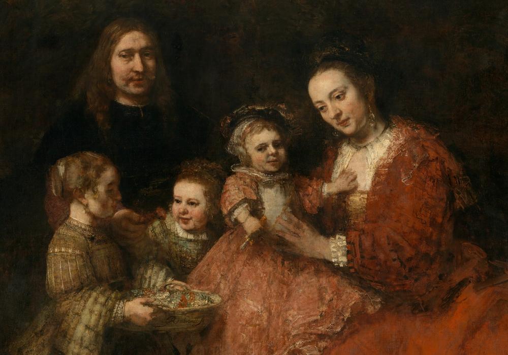 Rembrandt Harmensz. van Rijn, Familienbild, um 1665 - 1668 Foto: Cordes – Herzog Anton Ulrich-Museum