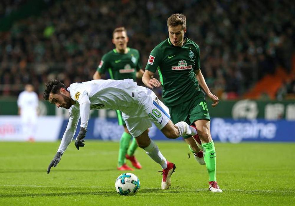 Yunus Malli und Wolfsburg stolpern über Bremen. Foto: imago/Defodi
