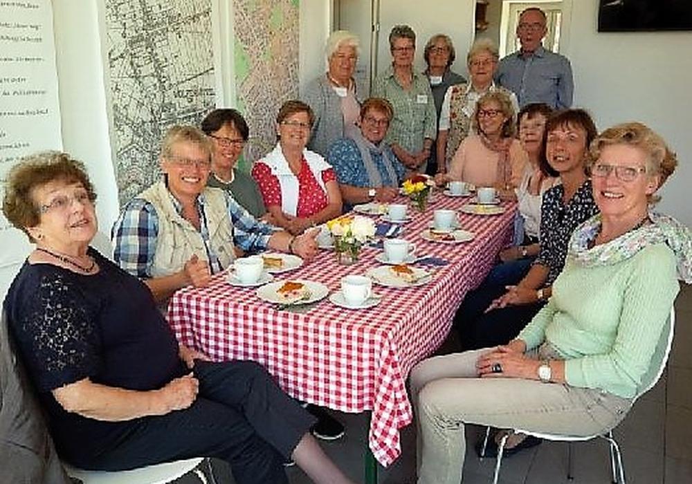 Die Meisterinnen der ländlichen Hauswirtschaft verlebten angenehme Stunden im Gärtnermuseum. Foto: Andreas Meißler
