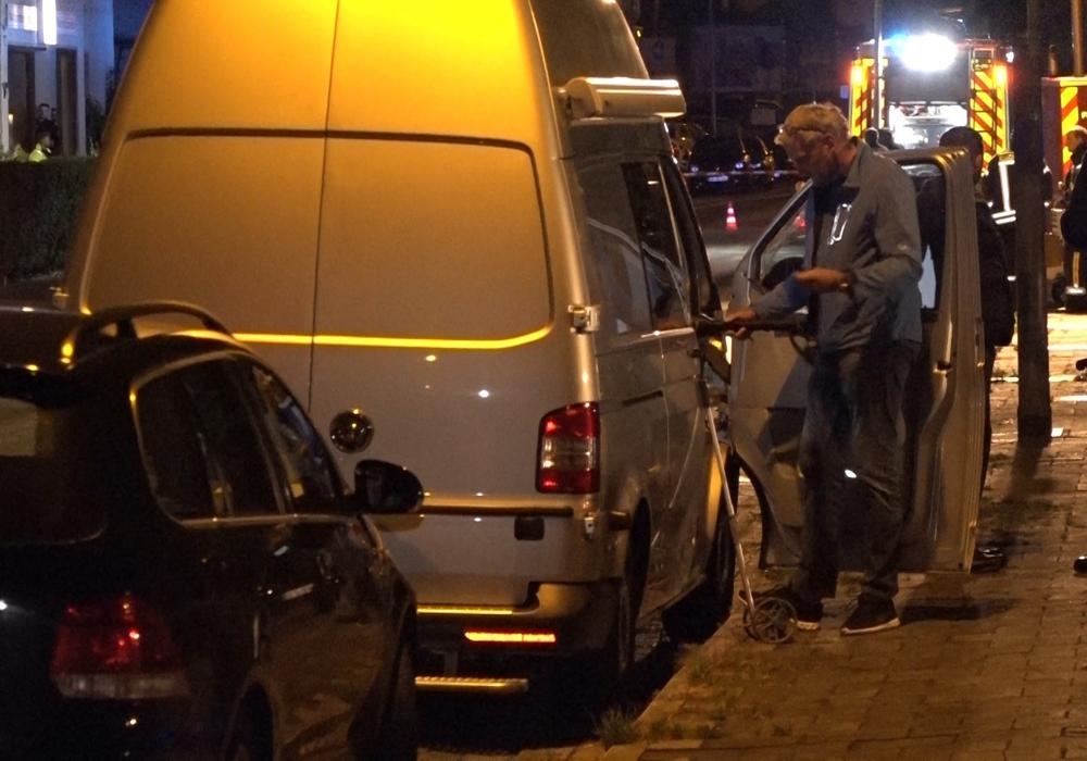 Die Ermittlungen in der Tatnacht. Foto: aktuell24/DC