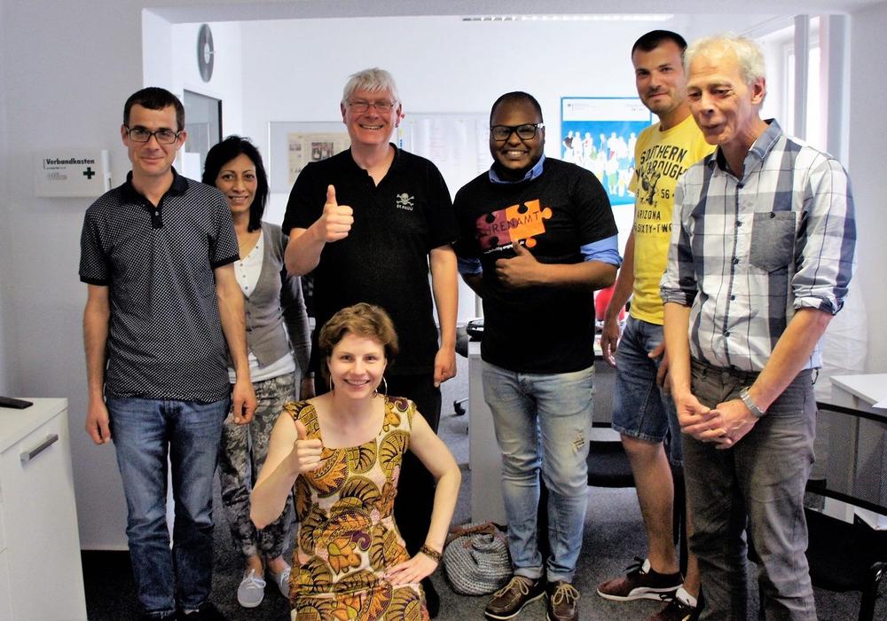 Das Team, das die Veranstaltung organisiert. Foto: Freiwilligenagentur Jugend-Soziales-Sport e.V.