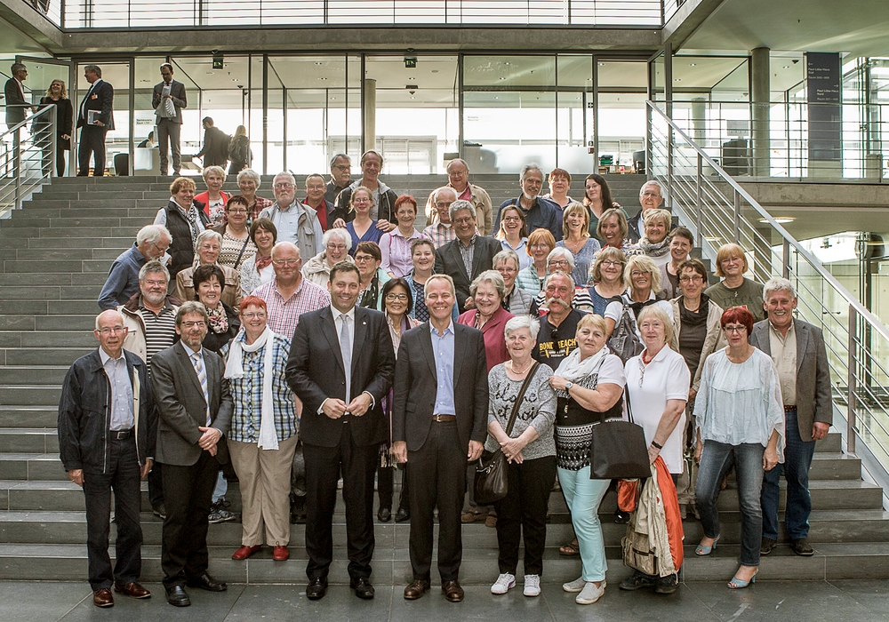 Gruppenbild, Foto: Bundesregierung / Arge GF-BT GbR