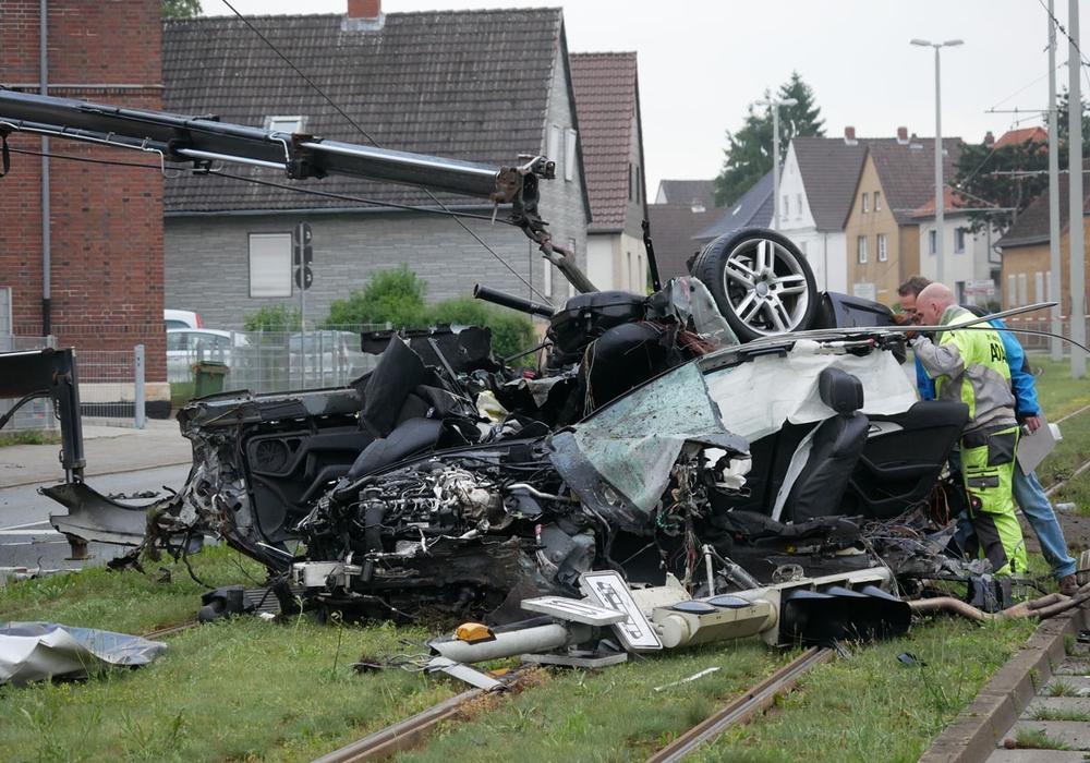 Leider kommt es immer wieder zu Unfällen mit Personenschäden, manche tödlich - so wie hier auf der Berliner Straße in Braunschweig. Symbolfoto: Alexander Panknin
