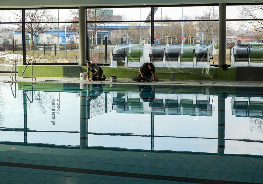 Das Stadtbad Okeraue muss wegen Wartungsarbeiten das Hallen-Sportschwimmbecken sperren. Foto: Thorsten Raedlein