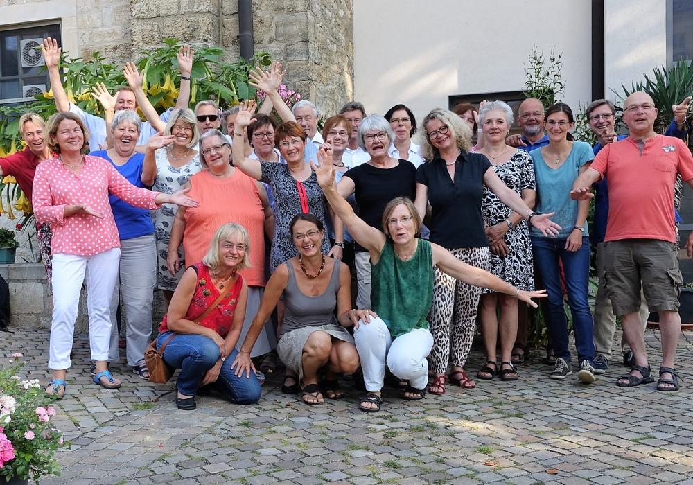 Der Evesser-Chor. Foto: privat