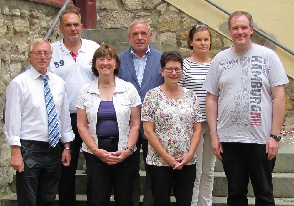 Der neue Vorstand v.l: Konrad Gramatte, Jens Golombek, Karin Schäfer, Volker Nesbor, Kerstin Prediger, Antje Brunke, Maik Eggeling. Foto: KSB