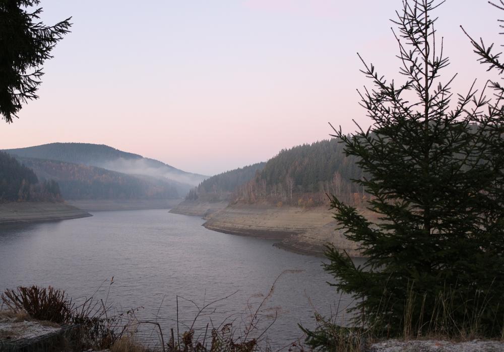 Die Okertalsperre im Harz - Auch der vergangene September war wieder zu trocken. (Archivbild)